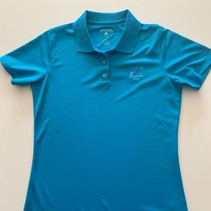 Women's golf polo short sleeve shirt, size small